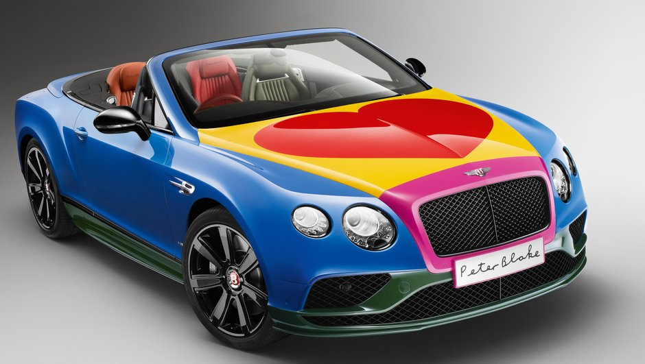 "Insolite : la Bentley Continental GT V8 S ""Love Power"" de Sir Peter Blake"