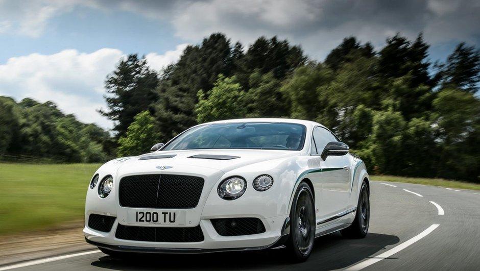 Bentley Continental GT3-R 2014 : 580 chevaux pour la brutale anglaise