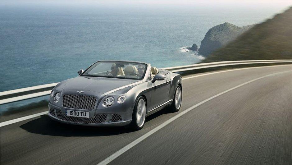 Nouvelle Bentley Continental GTC : souffle luxueux pour Francfort
