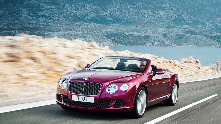 Salon de Détroit 2013 : Bentley Continental GT Speed Convertible, 325 km/h !