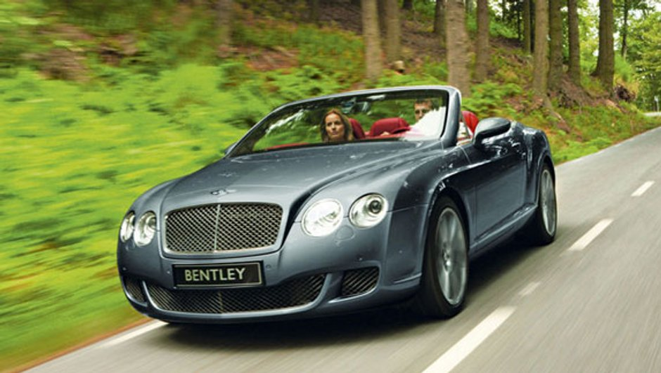 Bentley Continental GTC Speed : Toujours plus !