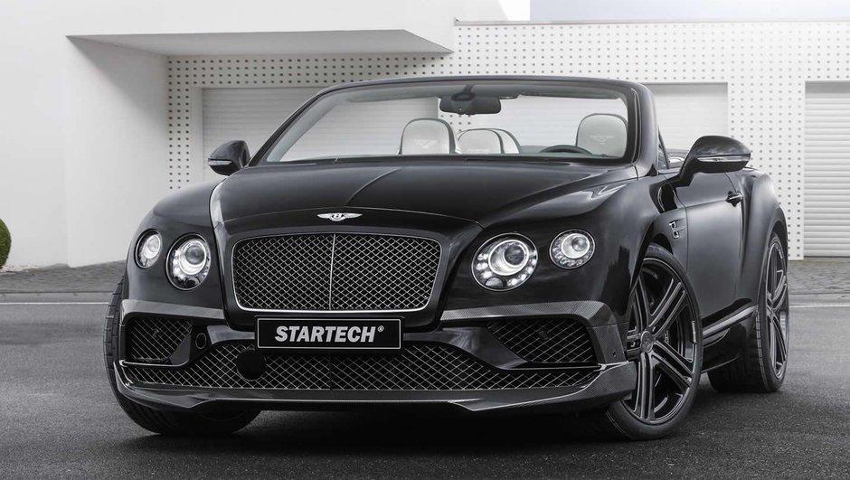 Salon de Francfort 2015: la Bentley Continental GTC façon Startech!