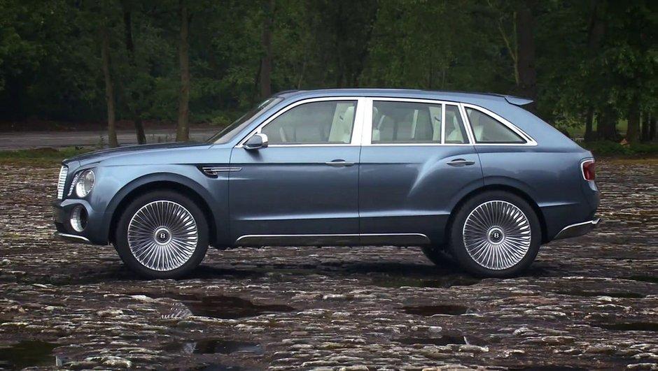 Bentley SUV : c'est oui pour 2016 !