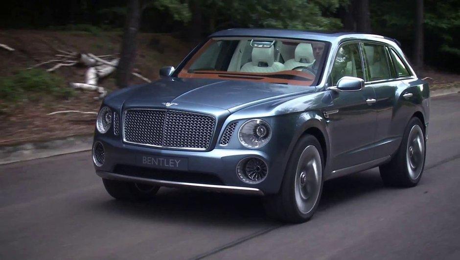 Bentley SUV : c'est presque oui pour 2016 !