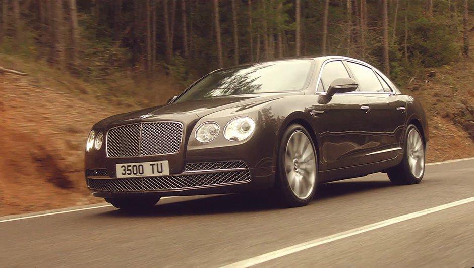 Salon de Genève 2013 : Bentley Flying Spur et ses 625 ch