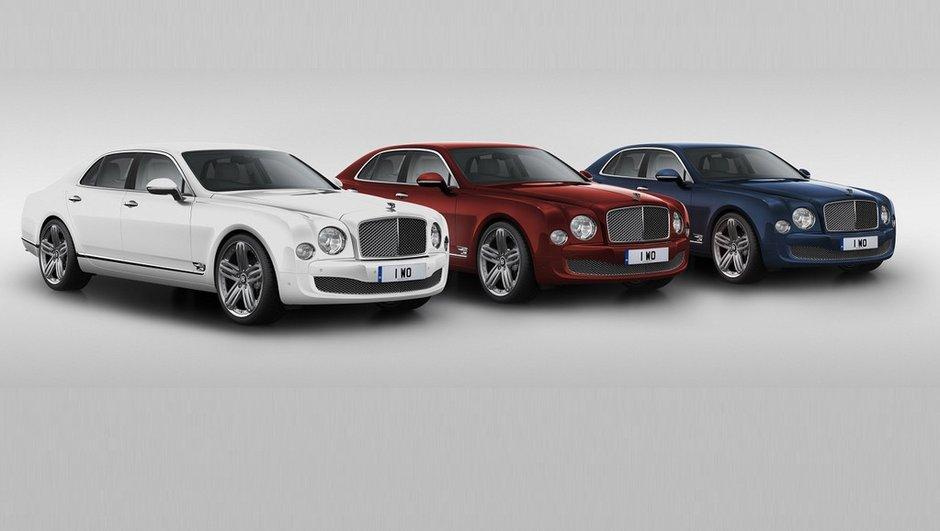 """Bentley Mulsanne """"95"""" Edition 2014 : 15 unités seulement pour le Royaume-Uni"""