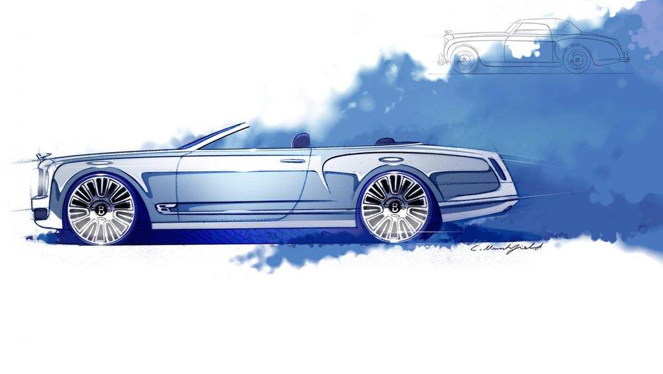 Bentley Mulsanne Convertible Concept : luxe et grand air à l'horizon