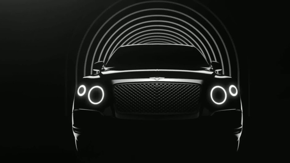 Futur Bentley SUV 2016 : première vidéo teaser