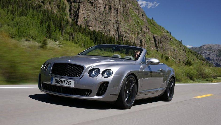 Bentley Continental Supersports Convertible : photos et vidéos
