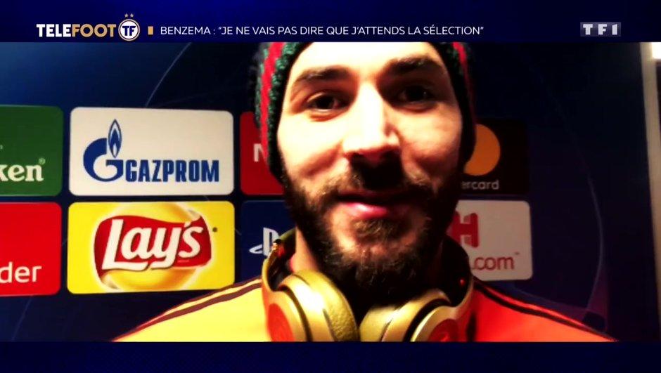 """[EXCLU Téléfoot 17/02] - Benzema : """"Les polémiques en France ? J'ai 31 ans, aujourd'hui je prends ça à la légère"""""""
