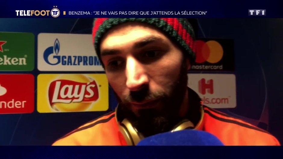 """[EXCLU Téléfoot 17/02] - Benzema évoque les Bleus : """"Je ne vais pas dire que j'attends la sélection"""""""