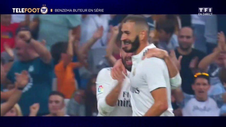 Liga : Benzema démarre sa saison en trombe !