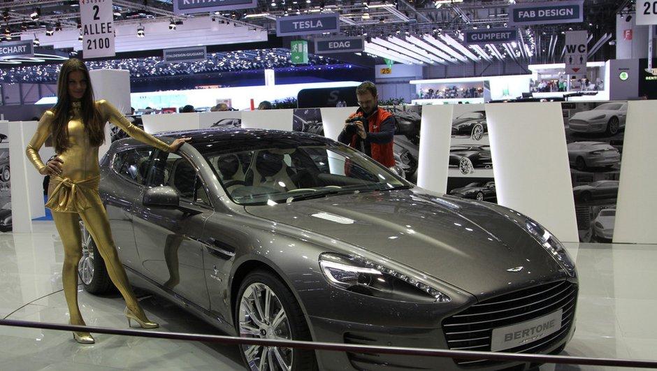 Salon de Genève 2013 : Bertone recarrosse l'Aston Martin Rapide