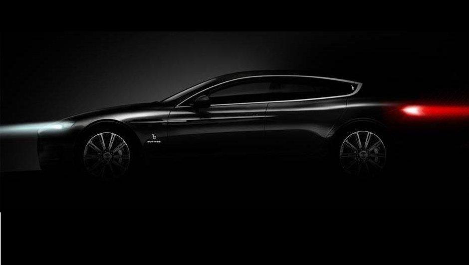 Salon de Genève 2013 : concept de berline 4 portes pour Bertone
