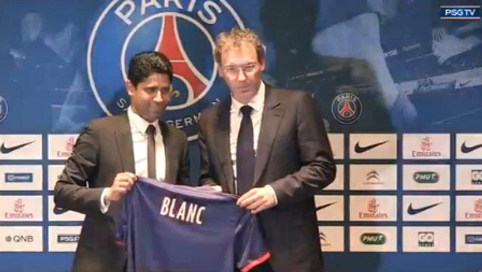 PSG : Nasser Al-Khelaïfi soutient Laurent Blanc