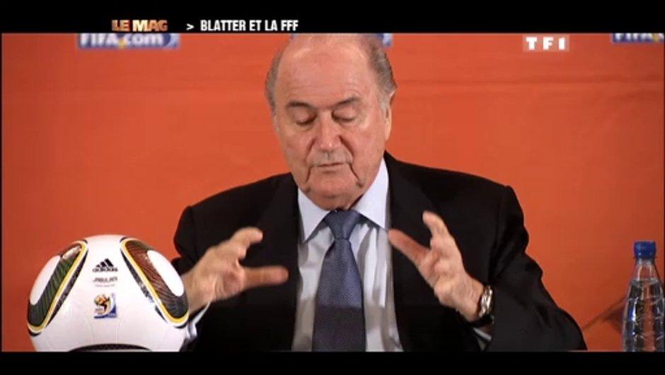 Coupe du Monde : Blatter félicite l'Afrique du Sud
