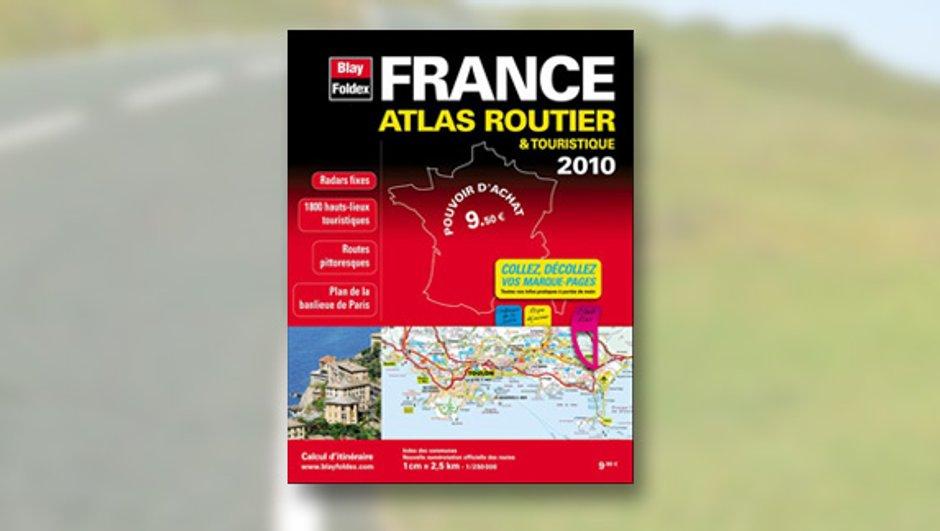 Blay Foldex : Les cartes et Atlas routiers 2010 disponibles !