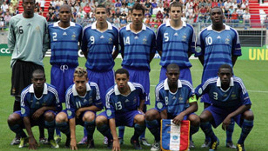 Equipe de France : France-Espagne, Finale de l'Euro - 19 ans.