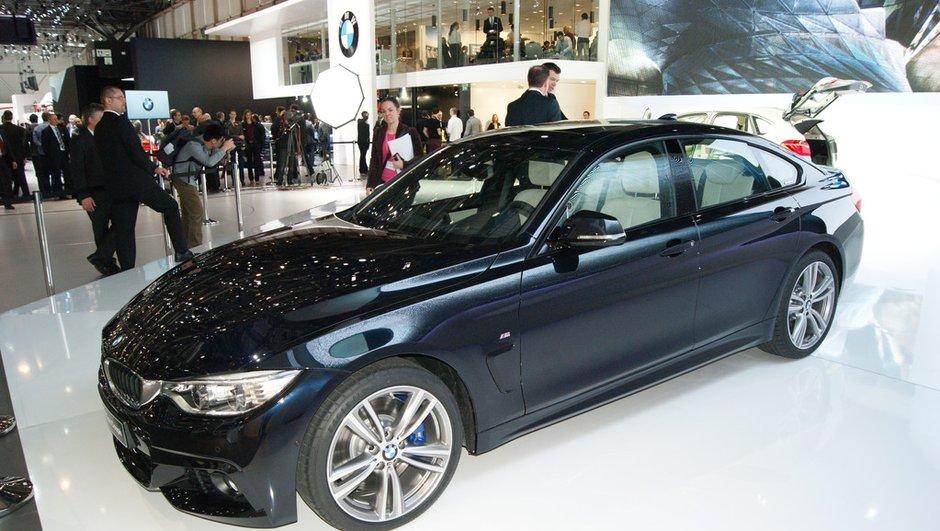 Salon de Genève 2014 : BMW présente sa nouvelle Série 4, la berline GranCoupé