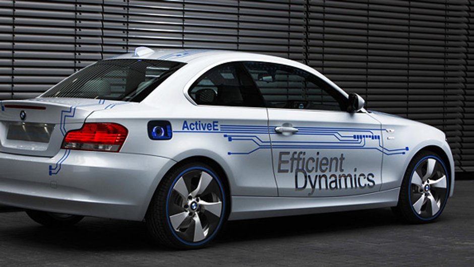 La BMW ActiveE concept sera présentée à Détroit