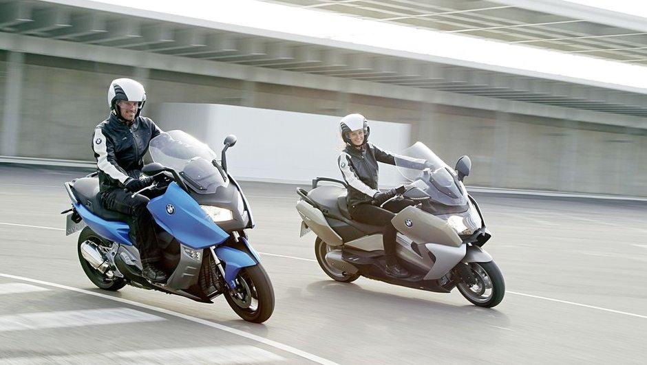 Salon de Milan : BMW présente les scooters C 600 et C 650 GT