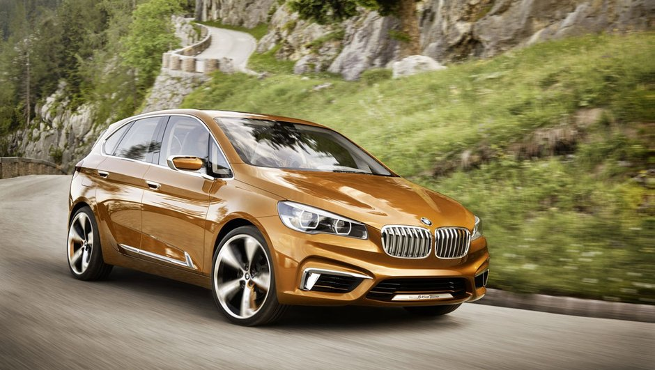BMW Concept Active Tourer Outdoor 2013 : le monospace se confirme