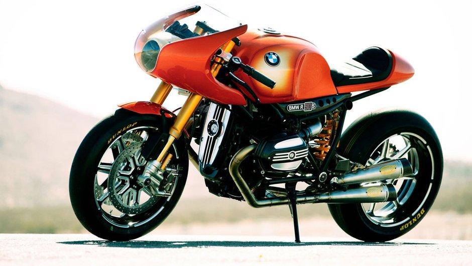 Un BMW Concept Ninety pour les 90 ans de Motorrad