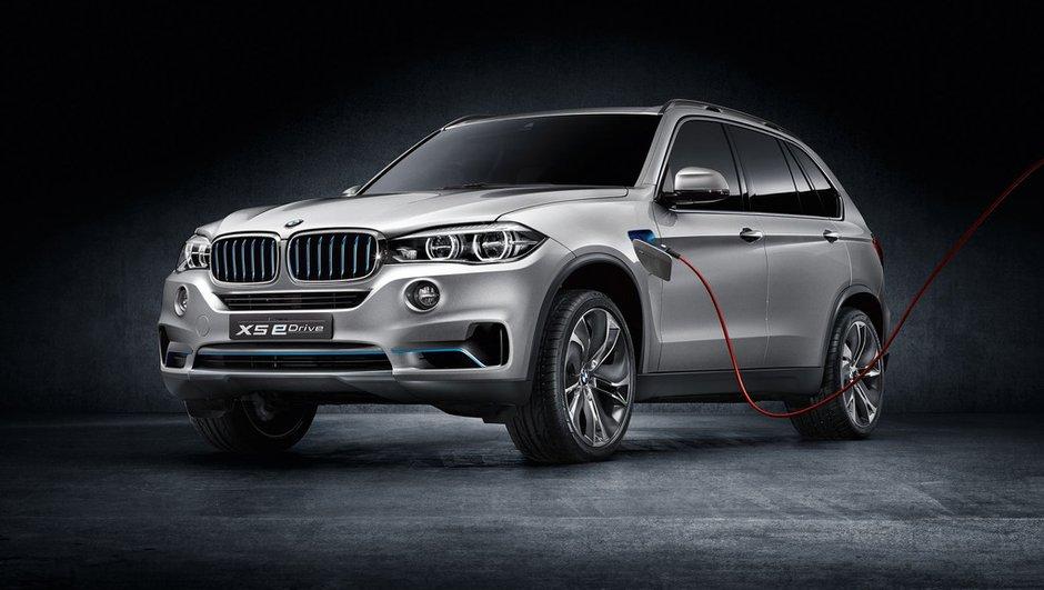 BMW X5 eDrive Concept 2013 : l'hybride rechargeable prête pour Francfort
