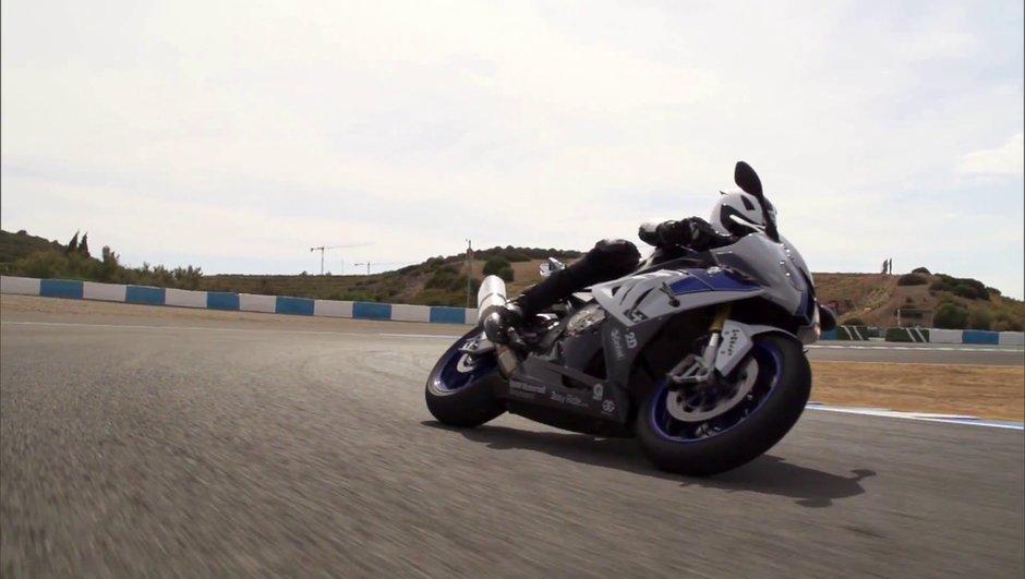 Vidéo : la nouvelle BMW HP4 en action