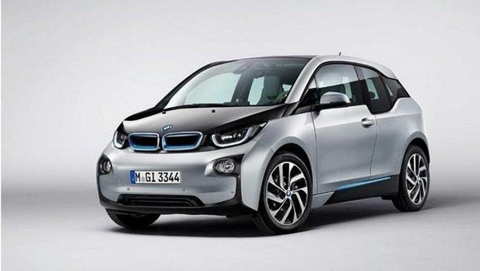 BMW i3 2013 : premières photos officielles