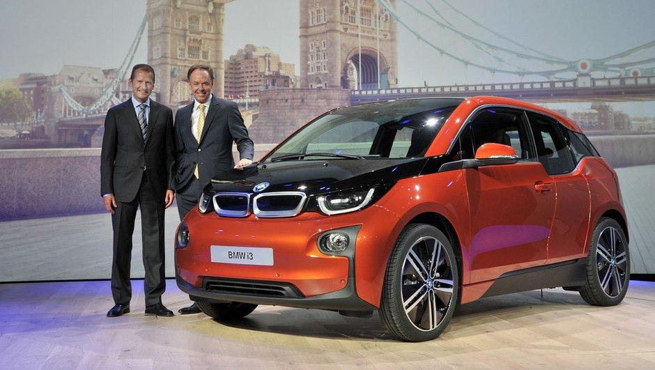 BMW i3 2013 : présentation de la citadine électrique [+ Photos et Vidéo]