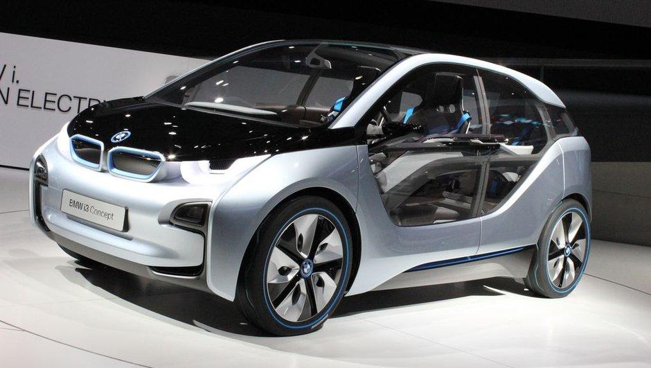 Salon de Francfort 2011 : BMW i3 Concept, révolution électrique