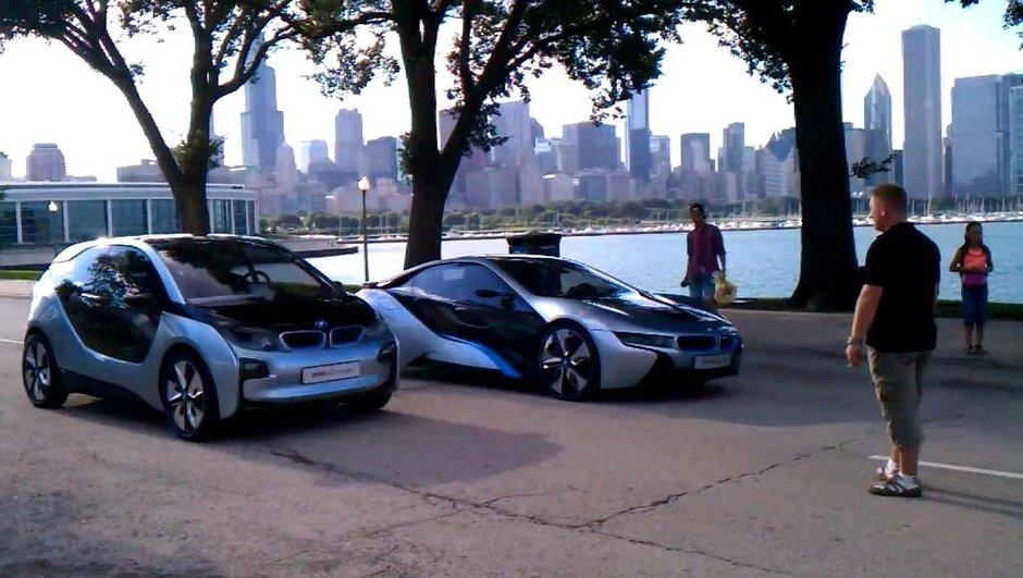 Vidéo : les concepts i3 et i8 de BMW à Chicago