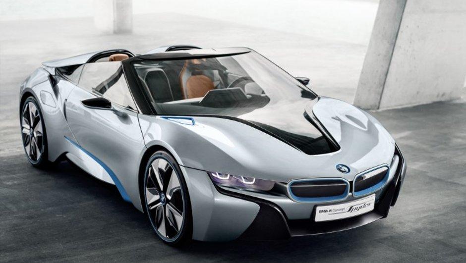 BMW i8 Spyder : finalement produite ?