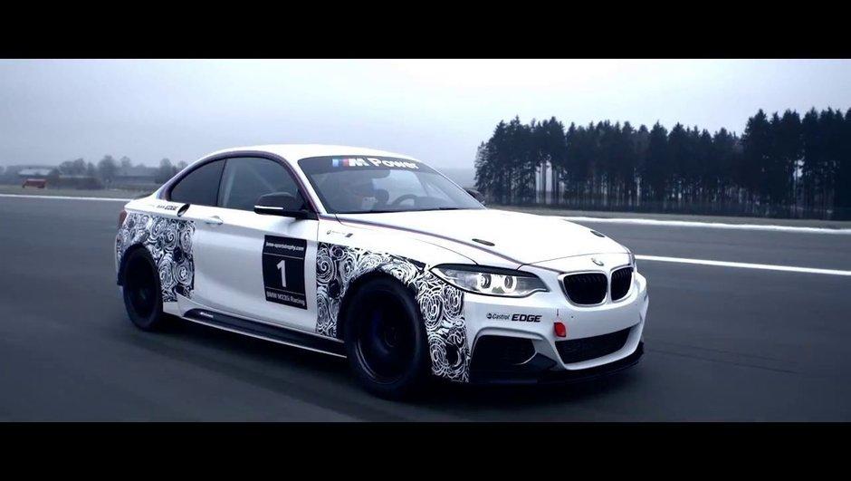 BMW M235i Racing 2014 : une Série 2 de course, en attendant la M2 ?