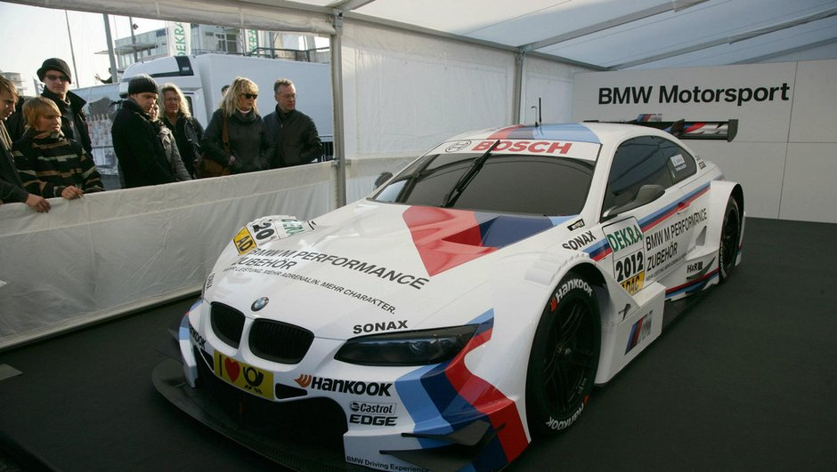 DTM : Romain Grosjean en test au volant de la BMW M3