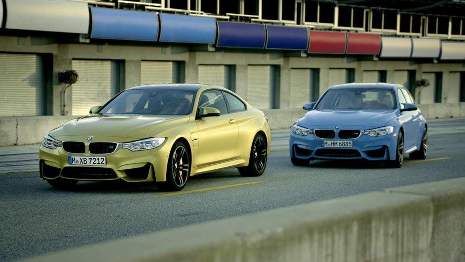 BMW M4 Coupé et M3 Berline 2014 : les deux bombes en photos, infos et vidéos