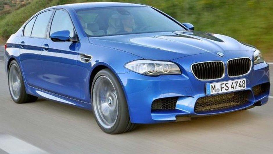 Nouvelle BMW M5 : photos et infos officielles