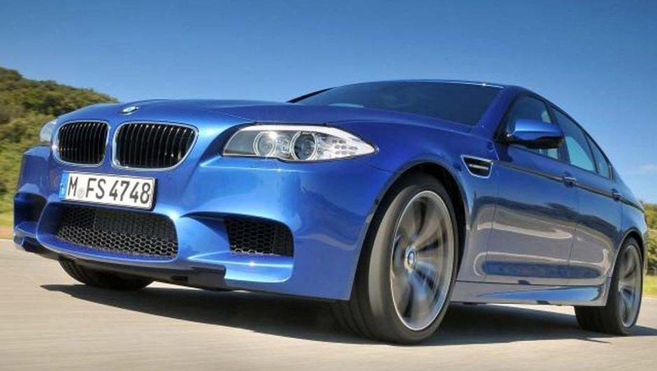 Vidéo : la nouvelle BMW M5 se défoule sur circuit