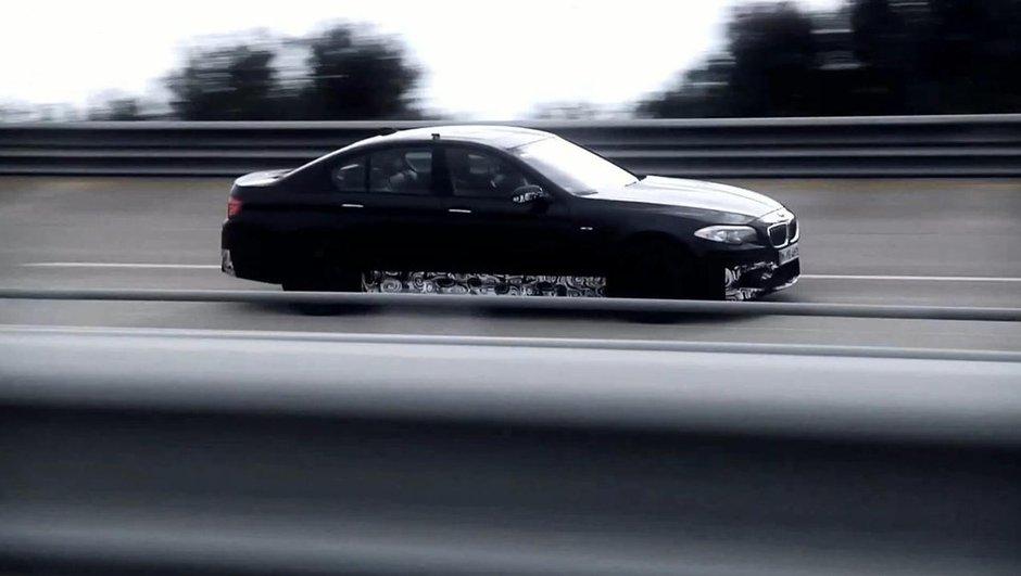 Vidéo : La future BMW M5 en action à 308 km/h !