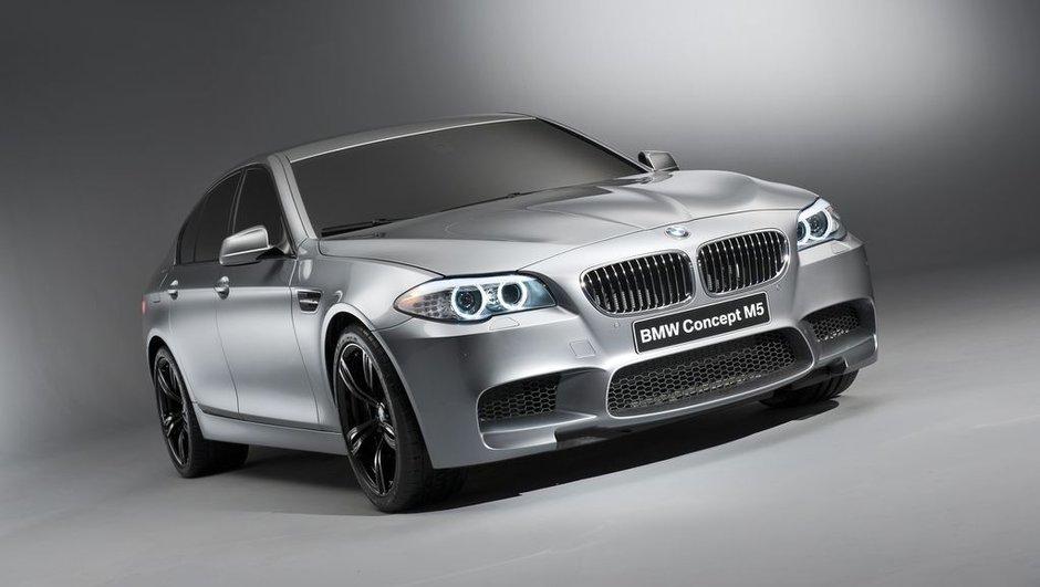 BMW M5 Concept : présentation avant le Salon de Shanghai 2011