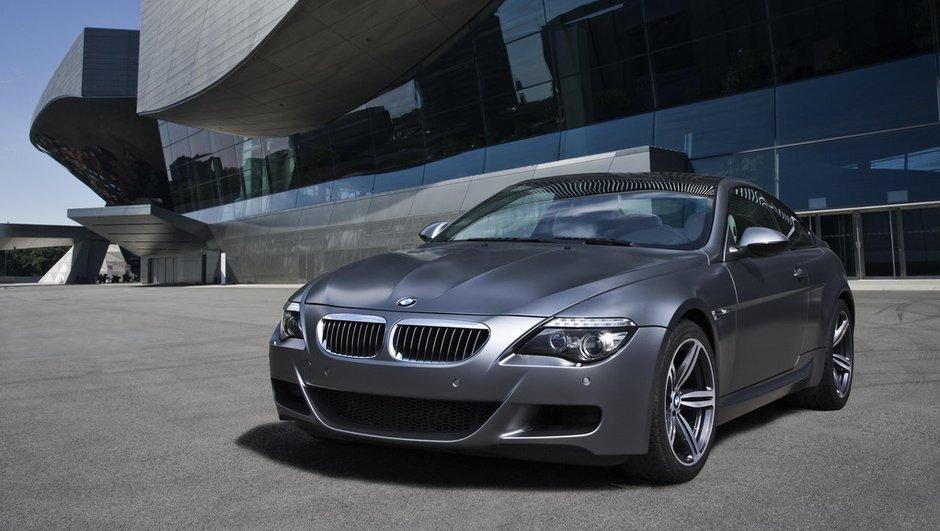 Fin de route pour la BMW M6