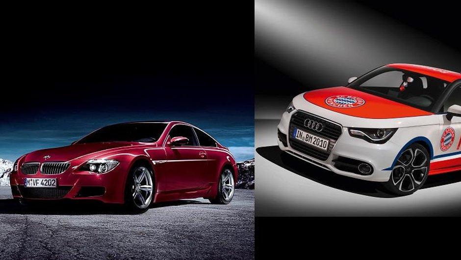 Coupe du Monde : les voitures de Robben (Pays-bas) et Villa (Espagne)