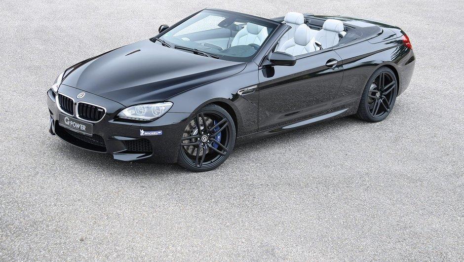 Tuning : La BMW M6 Cabriolet G-Power grimpe à 740 ch