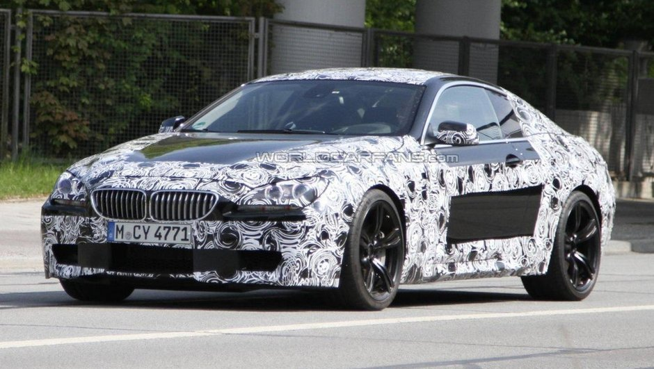 BMW M6 : Le coupé et le cabriolet espionnés sur route