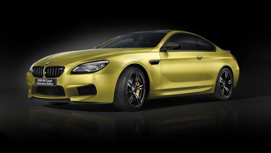 """BMW dévoile un M6 Coupé """"édition centenaire"""" de 600 chevaux !"""