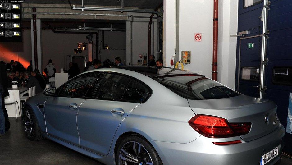 BMW M6 Gran Coupé : premières photos