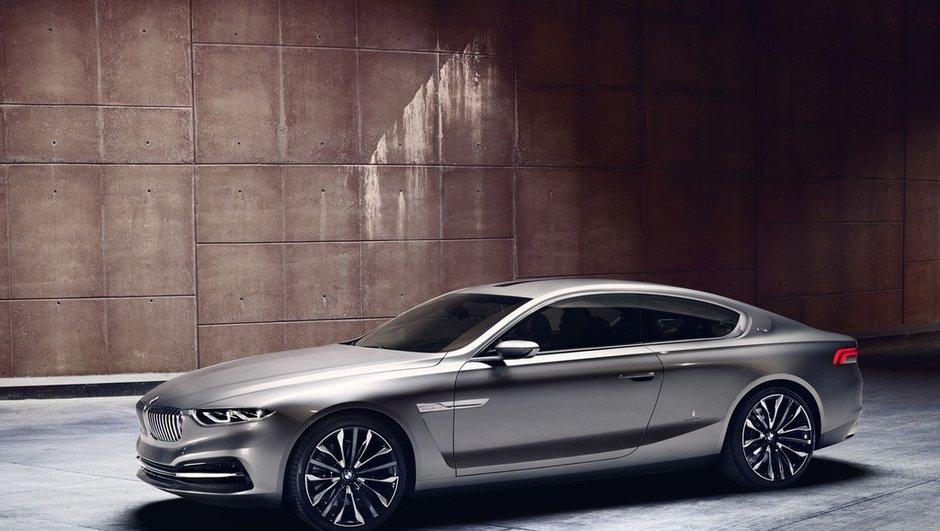 Le concept BMW Pininfarina Gran Lusso Coupé s'exhibe à Villa d'Este