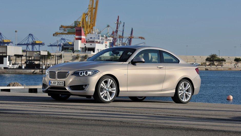 BMW Série 2 Coupé : prix à partir de 33.100 euros