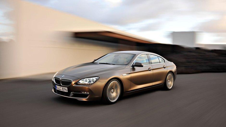 Nouvelle BMW Série 6 Gran Coupé : 5 mètres d'élégance
